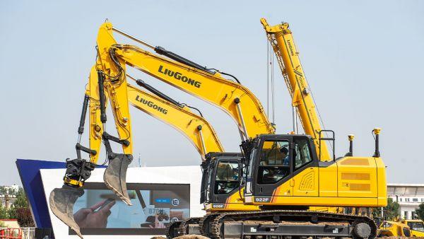 Nová F série pásových rypadel LiuGong míří na český trh